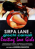393 EXCITING LOVE GIRLS (1983) (XXX) Sirpa Lane! Andrea Bianchi!