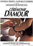 CEREMONIE D\'AMOUR (1988) Walerian Borowczyk\'s final film (2 DVD)