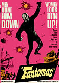 FANTOMAS (1964) the classic super-villain blockbuster