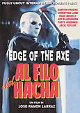 285 EDGE OF THE AXE (1988) Jose Ramon Larraz slasher film!