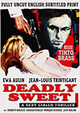 039 DEADLY SWEET (1968) Rare Tinto Brass thriller with Ewa Aulin