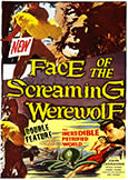 (876) FACE OF SCREAMING WEREWOLF + INCREDIBLE PETRIFIED WORLD