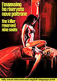 (946) KILLER RESERVED NINE SEATS (1974) Fully Uncut 103 Min!