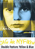 I AM CURIOUS (YELLOW + BLUE) (1967-68) (first XXX film)